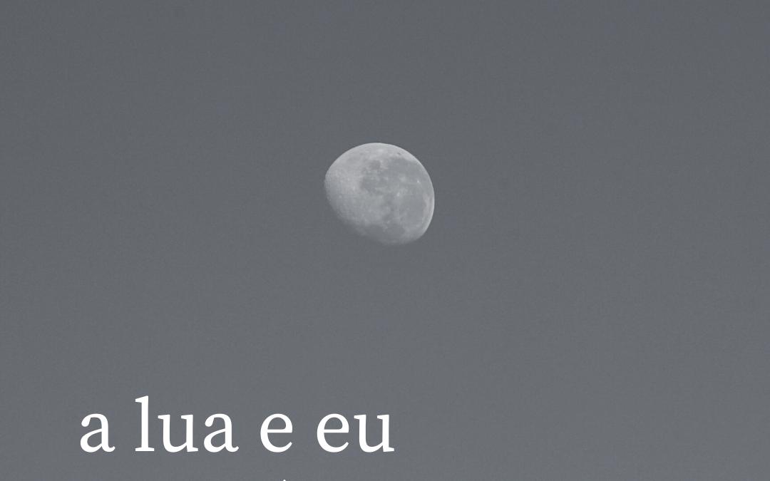 Novo ciclo . a lua e eu